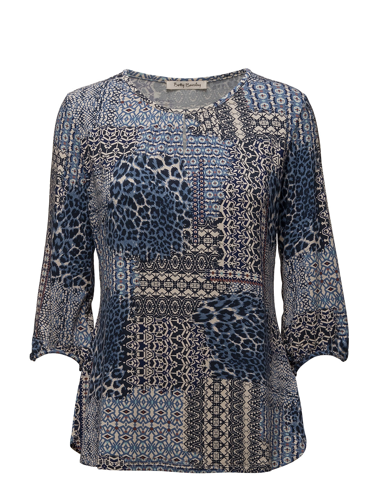Shirt Long 3/4 Sleeve Betty Barclay Langærmede til Damer i Mørkeblå