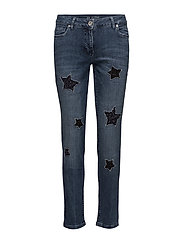 Pants Jeans 1/1 Length - DARK BLUE DENIM