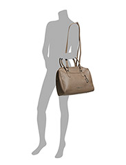 Shopper Bag A4 - taupe