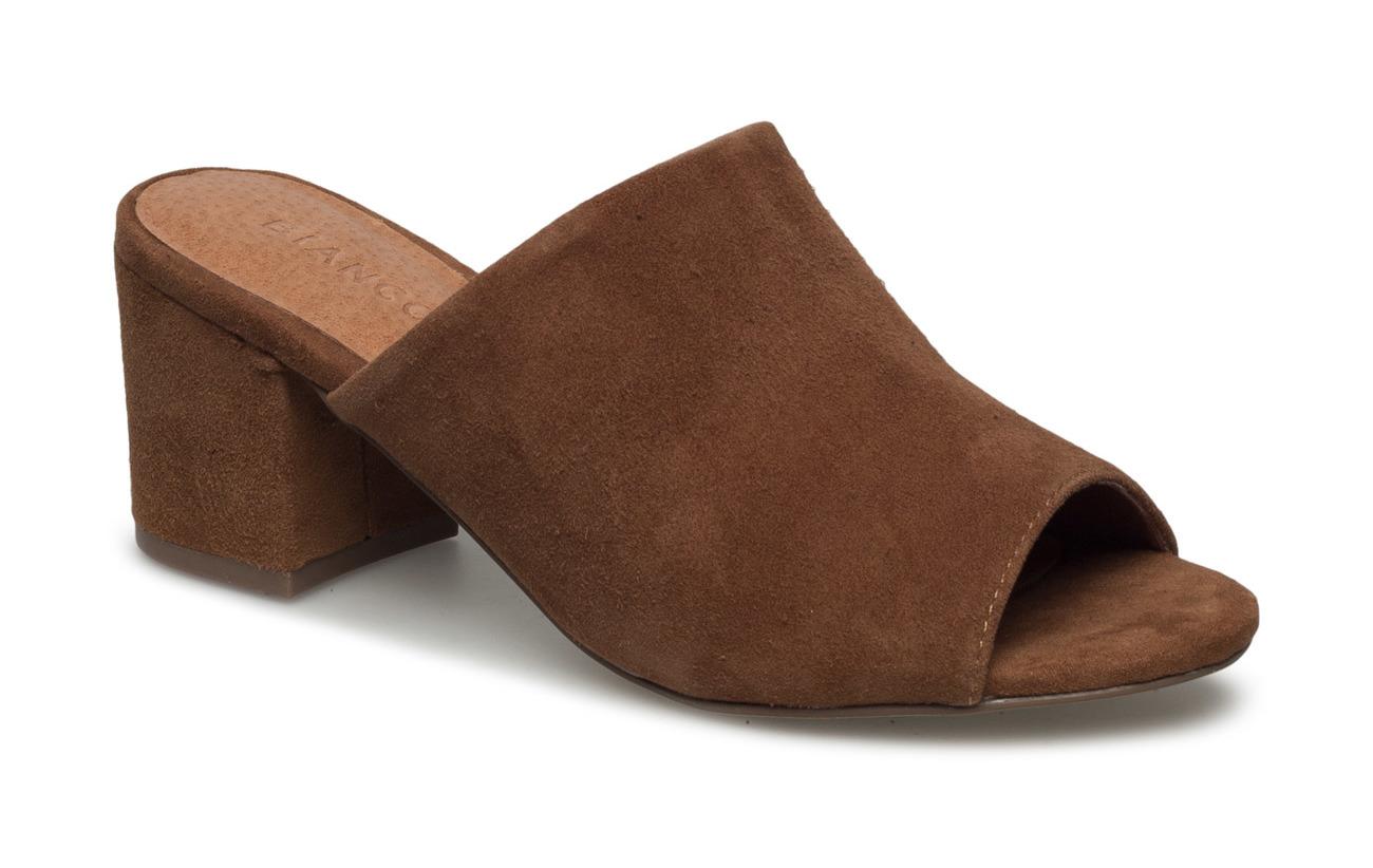 Bianco Suede Mule sandal JFM17