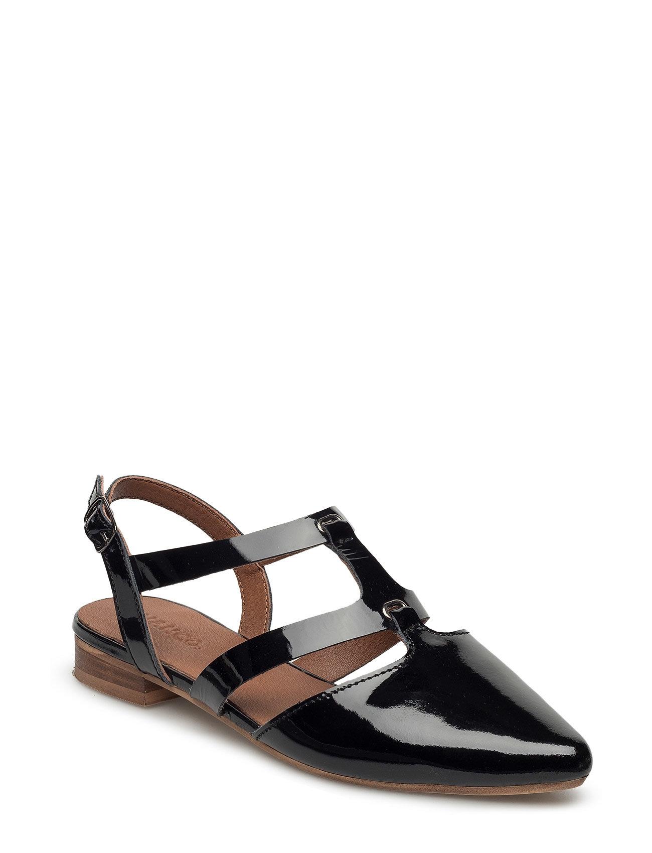 c2e4de69dbe Shop Open Slingback Shoe Mam16 Bianco Sandaler i Sort til Damer fra Boozt.dk