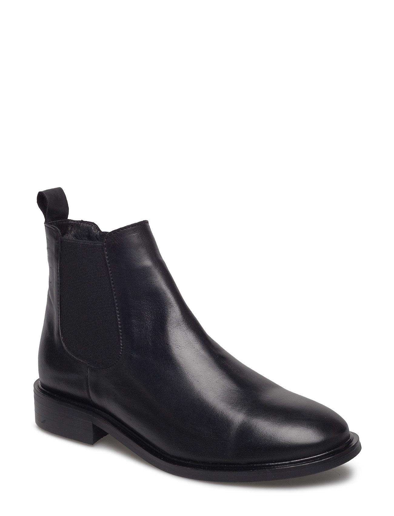 Classic Leather Chelsea Bianco Støvler til Damer i Sort