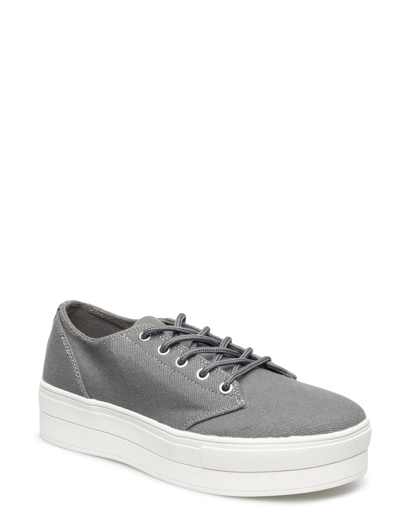 Flatform Sneaker Jja16 Bianco Sneakers til Damer i Grå