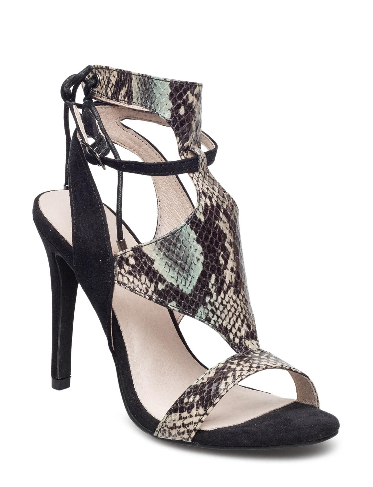 Back Laced Sandal Mam16 Bianco Sandaler til Kvinder i