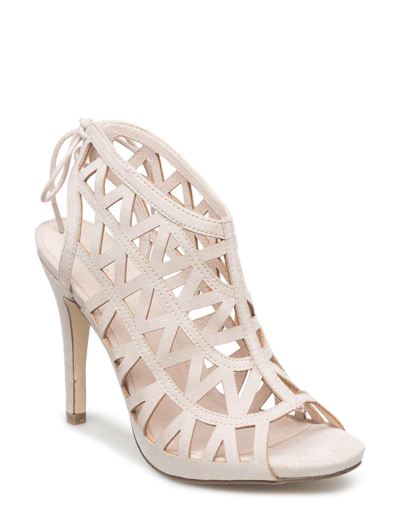 Cutout Stiletto Sandal Jja16 Bianco Sandaler til Kvinder i Sort