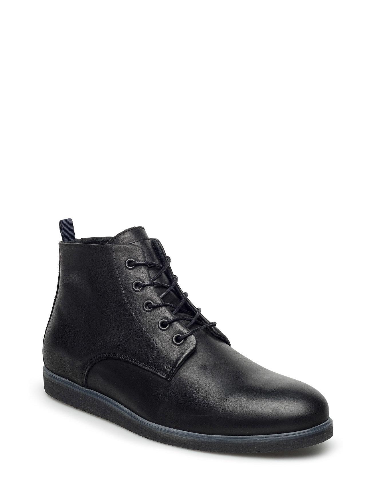 Laced Up Boot Exp17 Bianco Casual sko til Herrer i Sort