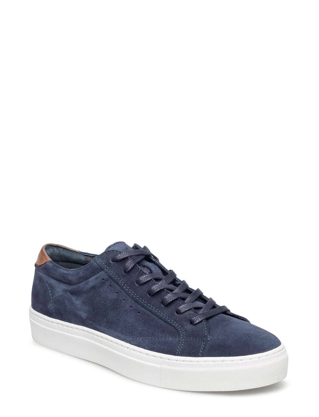 Suede Cass Shoe Mam16 Bianco Sneakers til Mænd i Marine blå