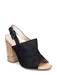 Mule Retro Sandal MAM16 - BLACK