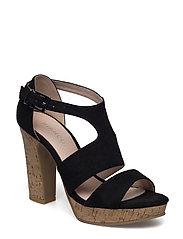 Double Strap Sandal JFM17 - BLACK