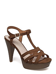 Strappy Sandal JFM17 - LIGHT BROWN