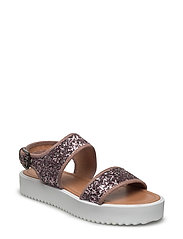 Glitter Flatform Sandal EXP17 - ROSE