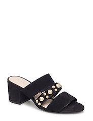 Pearl Strap Sandal AMJ18 - BLACK