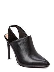 Leather Slingback JJA15 - Black