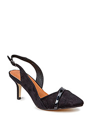 Sling Back JJA15 - Black 2