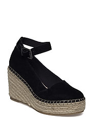 Plateau Espadrille Wedge JFM17 - BLACK