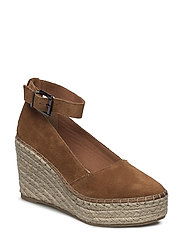 Plateau Espadrille Wedge JFM17 - LIGHT BROWN