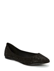Pointy Diamond Ballerina JJA14 - Black