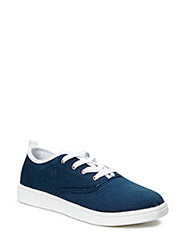 Laced Up Shoe MAM15 - Navy Blue