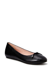 Leather Basic Ballerina MAM15 - Black