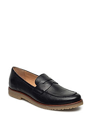 High Front Loafer JFM17 - BLACK