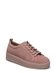 Flatform Suede Laced Up EXP17 - ROSE