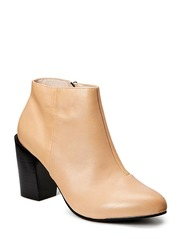 Nadine Leather Boot - Natural