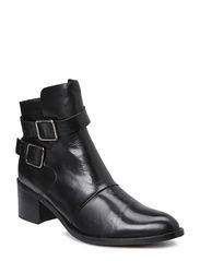 Dressy Buckle Boot DJF15 - Black