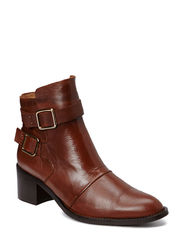 Dressy Buckle Boot DJF15 - Light Brown