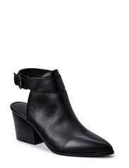 Mule Leather shoe DJF15 - Black