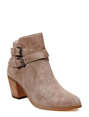 Suede Strap Boot DJF15 - Natural
