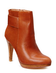 Mixed Leather/Suede Boot DJF15 - Light Brown
