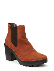 Bon Leather Boot - Rust