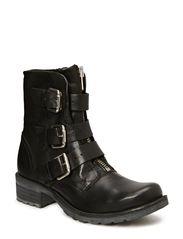 Buckle Boot JJA14 - Black