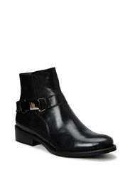 Boot w/Metal Deco DJF15 - Black