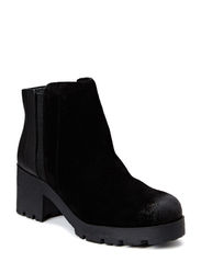 Chunky Suede Chelsea DJF15 - Black