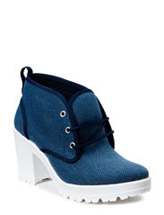 Textile Boot DJF15 - Navy Blue