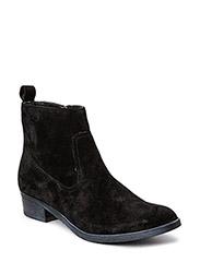 Suede Boot  JJA15 - Black