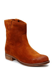 Casual Suede Boot DJF15 - Light Brown