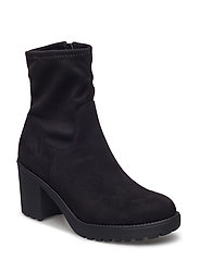 Mid High Stretch Boot JAS17 - BLACK