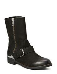Bene Leather Boot - Black