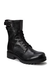 Boot w/Buckle Belt SON14 - Black