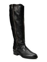 Bird Leather Boot - Black
