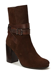 Suede Strap Boot SON15 - MID BROWN