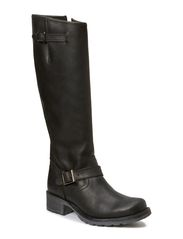 Long Boot W/Buckles SON14 - Black