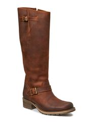 Long Boot W/Buckles SON14 - Mid Brown