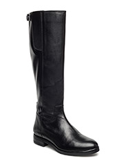 Long Buckle Boot JJA16 - BLACK