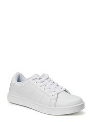 Low Clean Sneak - White