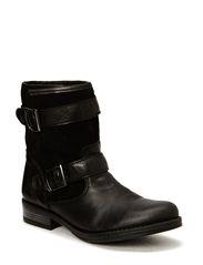Beline Leather Boot - Black