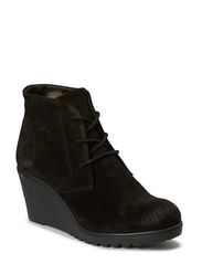 Warm Wedge Boot SON14 - Black