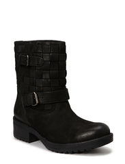 Braided Warm Boot - Black
